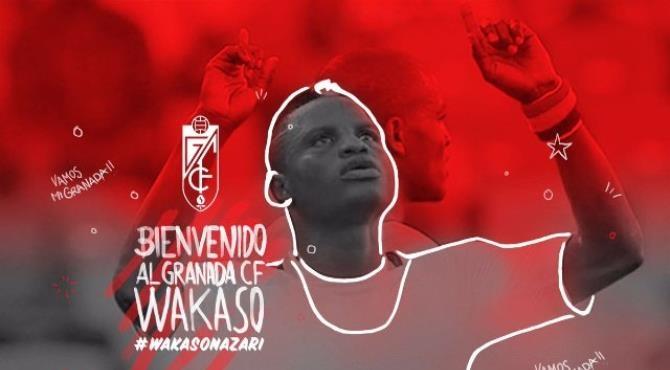 Mubarak Wakaso Joins Spainsh side Granada