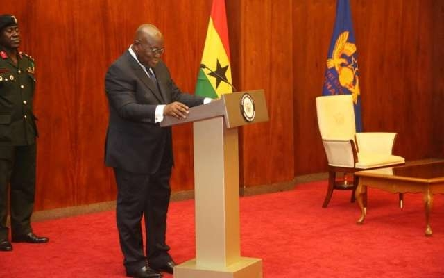 FULL SPEECH: Akufo-Addo's Maiden State of the Nation Address