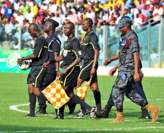 Match officials for Ghana Premier League match day one