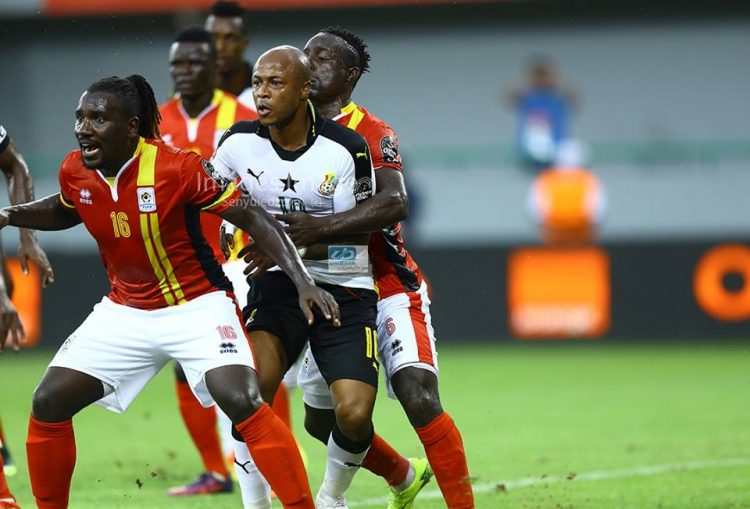 Six Uganda players in trouble for sex orgy with 1 Gabonese prostitute