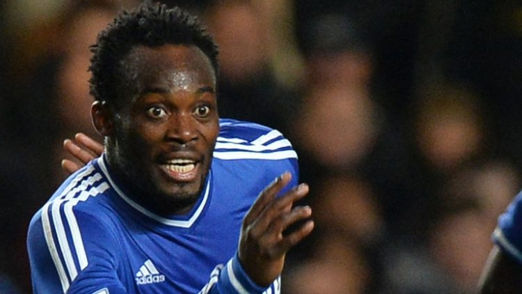 I'm not finished yet- Michael Essien