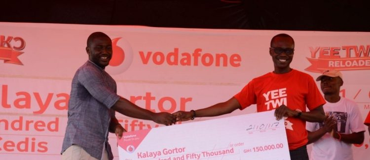 "Kalaya Gortor wins Vodafone ""Yee Twi Kor"" ultimate prize"