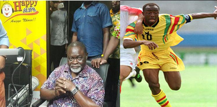 Azumah Nelson Picks Abedi Pele As Ghana's Greatest Footballer Of All Time