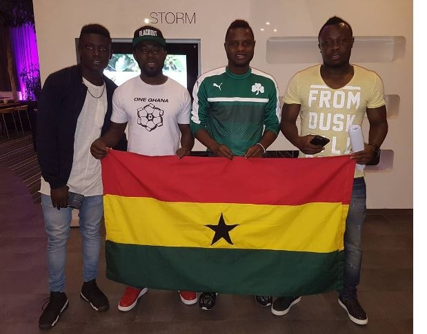 PHOTOS: How Andre Ayew, Gyan, Wakaso, other Black Stars players wished Ghana well on 60th anniversary