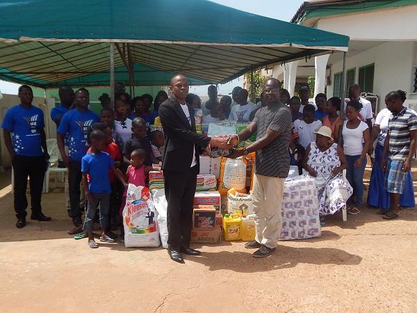 Fountain Gate Chapel, Sakumono Supports The Teshie Orphanage