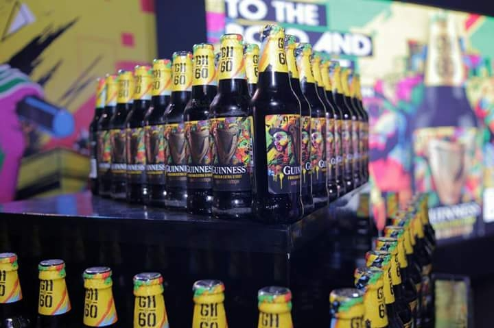 GUINNESS LAUNCHES 'OSAGYEFO' TO CELEBRATE  THE MADE OF BLACK SPIRIT OF GHANA @ 60