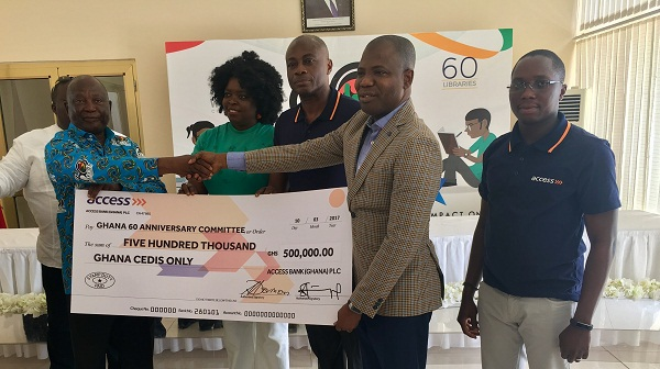 Access Bank Donates GHS500,000 To Support Ghana's Diamond Anniversary Celebrations