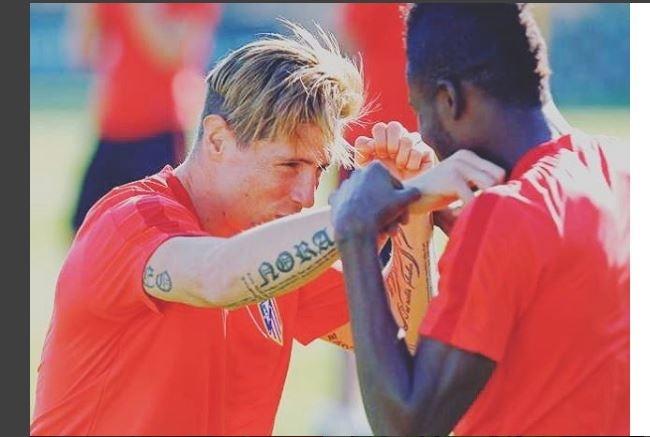 Essien, Partey send best wishes to Fernando Torres after nasty head injury