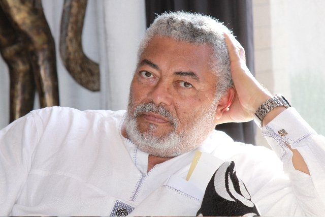 Ex President Rawlings Donates To Three Ghanaian Boxers