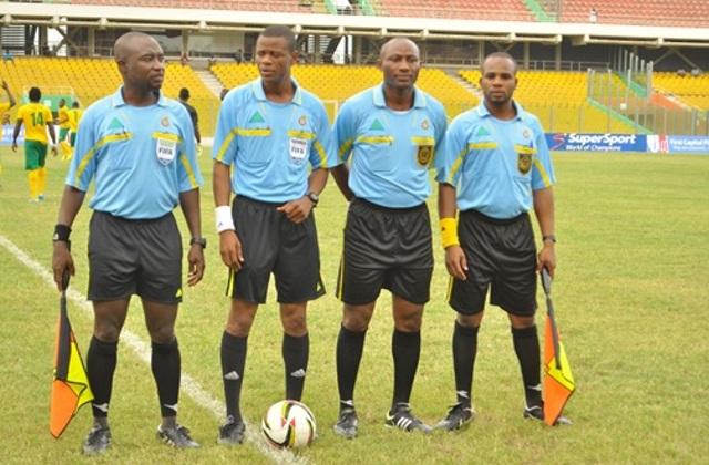 Ghana Premier League Week 9 match officials named