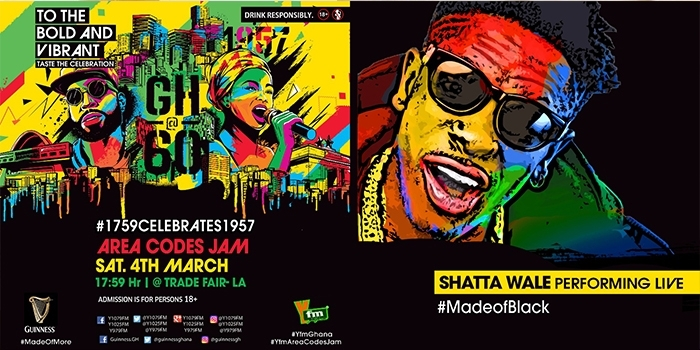 Shatta Wale, Yaa Pono for YFM's Area Codes Jam this Saturday