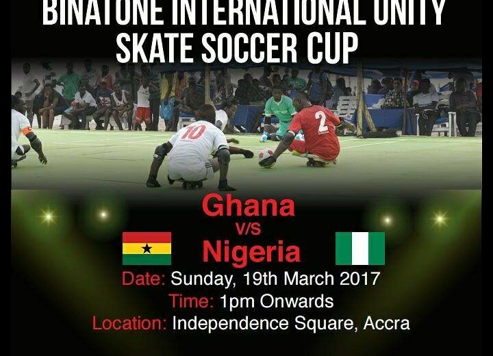 Ghana-Nigeria clash in Binatone International Unity Skate Soccer Fiesta