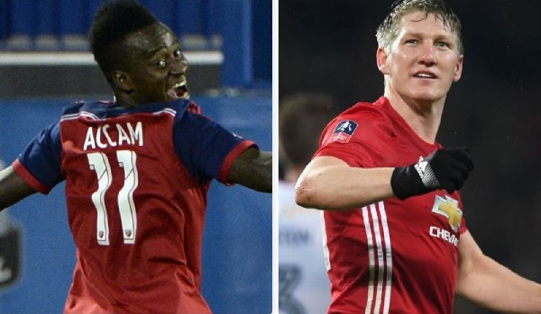 Schweinsteiger joins David Accam at MLS side Chicago Fire