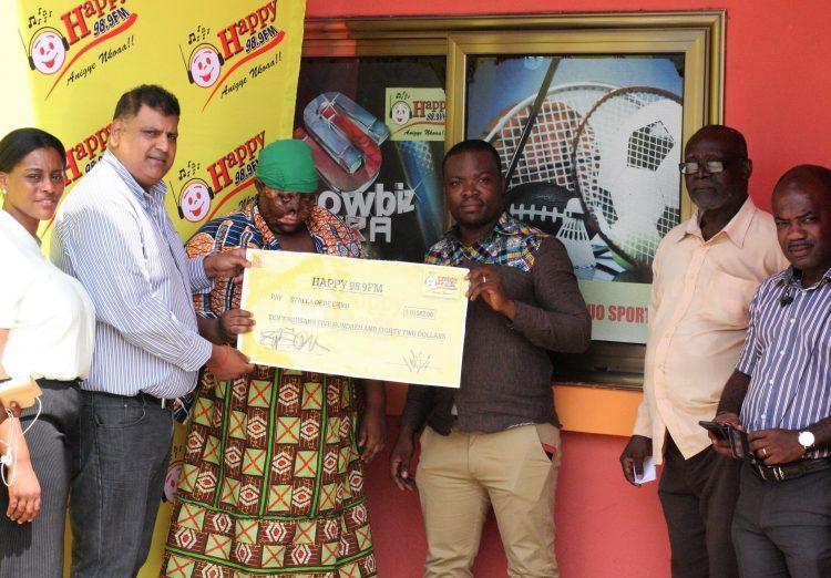 HAPPY FM RAISES GHc 50,000 FOR ACID BURNS VICTIM'S SURGERY