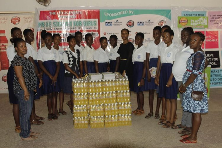 18 GIRLS RECEIVE HELP FROM PLANET DRINKS