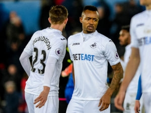 Jordan Ayew set to rake first start for Swansea City against Burnley