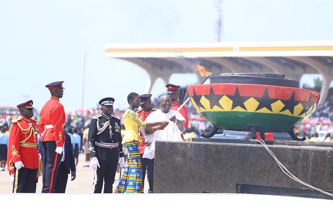 Glamour, glitz and colour mark Ghana's 60th anniversary