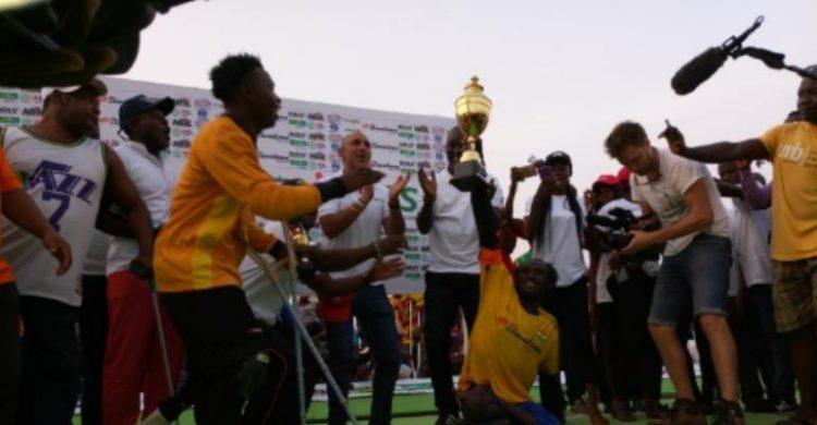 Ghana Scoops Binatone Skate Soccer Unity Cup