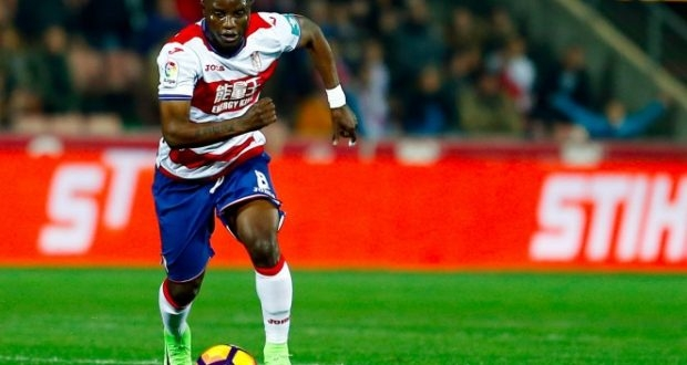 Granada coach worried for Wakaso despite first La Liga goal