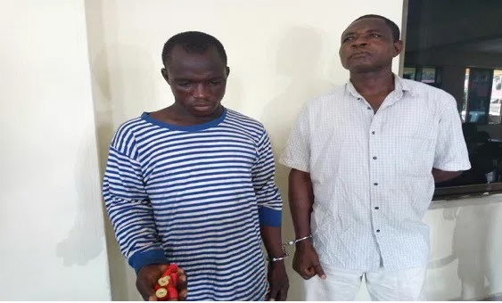 Two arrested for possessing 500 rounds of ammunition