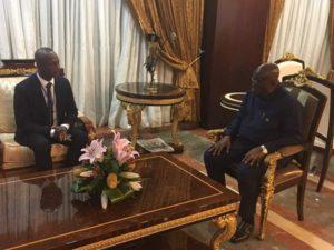 Black Stars coach Kwesi Appiah visits Prez Nana Addo