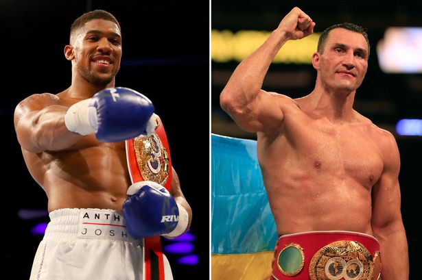 Anthony Joshua vs. Klitschko: Previewing by the numbers