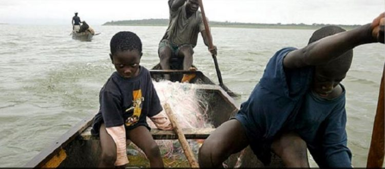 Child Trafficking - 31 rescued from Volta Lake