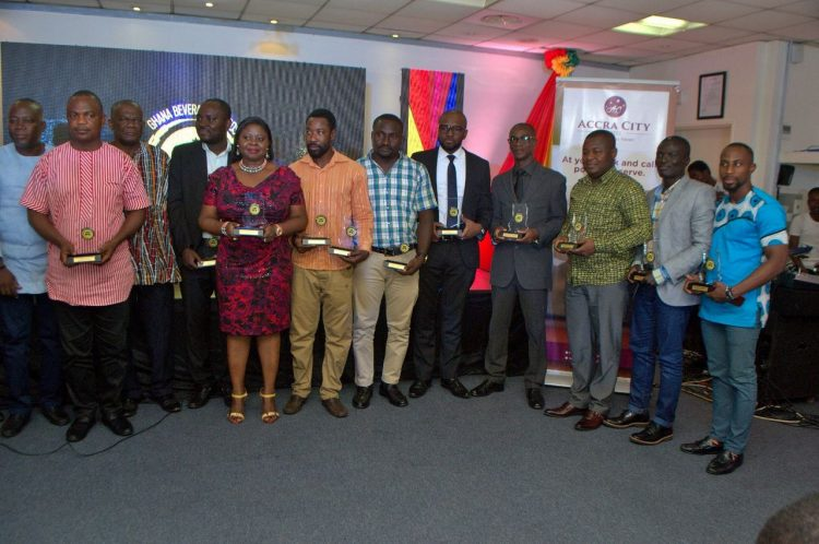 KASAPREKO, EIGHT OTHERS SWEEP TOP AWARDS AT GHANA BEVERAGE AWARDS
