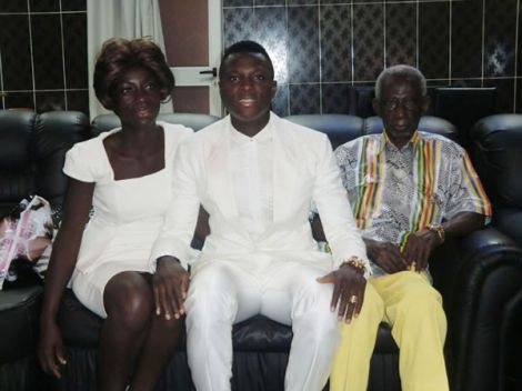 Samuel Inkoom loses dad