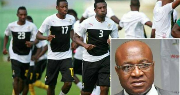 """Hon. Mensah Bonsu Back-tracks- """"GNPC Will Still Support Ghana FA"""""""
