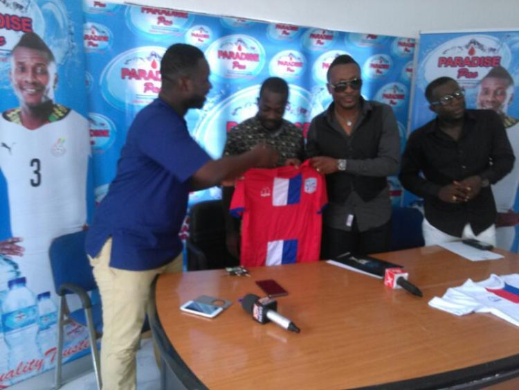 Liberty professionals seal sponsorship deal with Paradise Pac mineral water