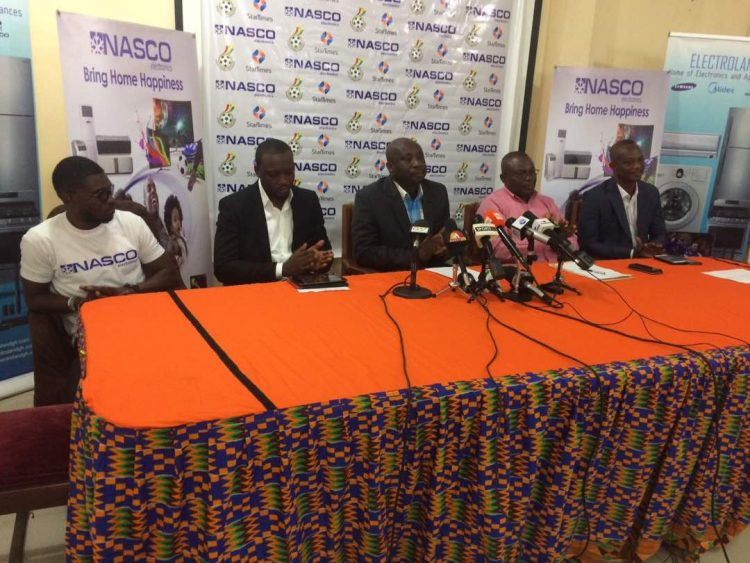 NASCO PARTNERS GHANA PREMIER LEAGUE IN 4-YEAR DEAL
