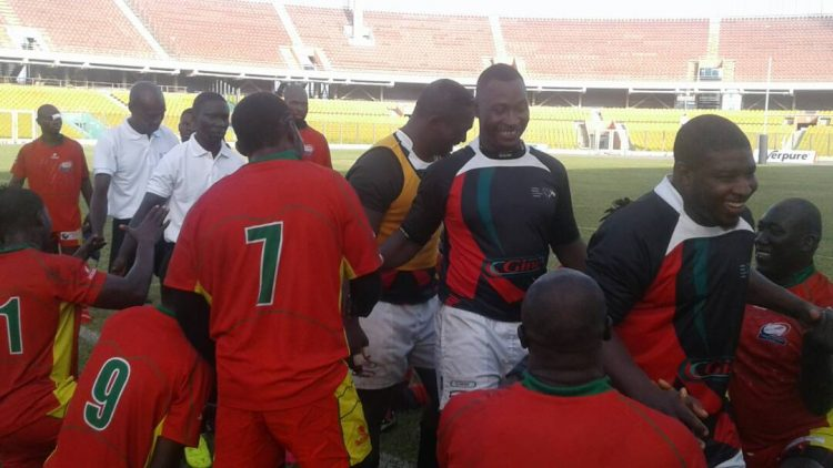 Ghana rugby Eagles Triumphs 46 To 5 Over Benin