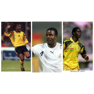 Abedi Pele, Sammy Kuffour and Tony Baffoe in sensational return to the field