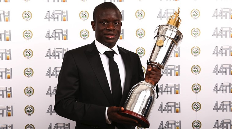 N'Golo Kante beats Hazard to win PFA Player of the Year award