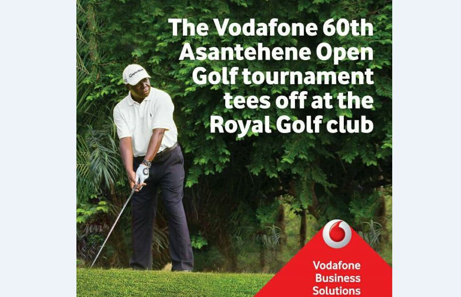 Sam Jonah, others tee-off Vodafone Otumfuo Golf Tourney