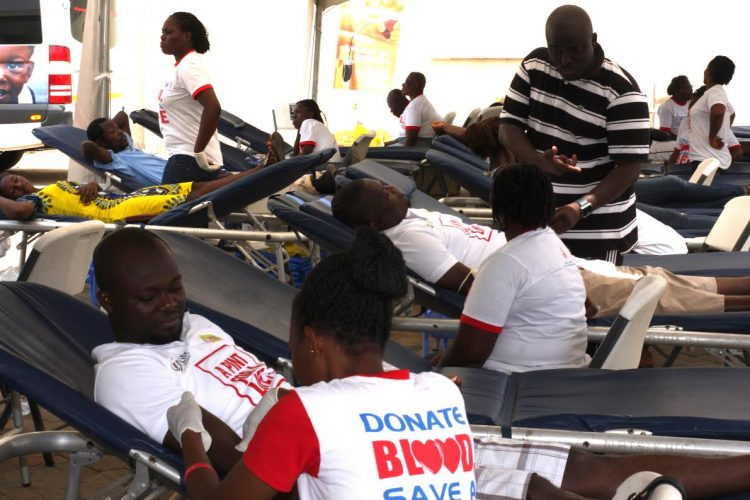 HAPPY FM, UT BANK POISED TO STOCK NATIONAL BLOOD BANK