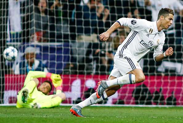 Ronaldo breaks Atletico hearts to put Real Madrid one step into the UCL final
