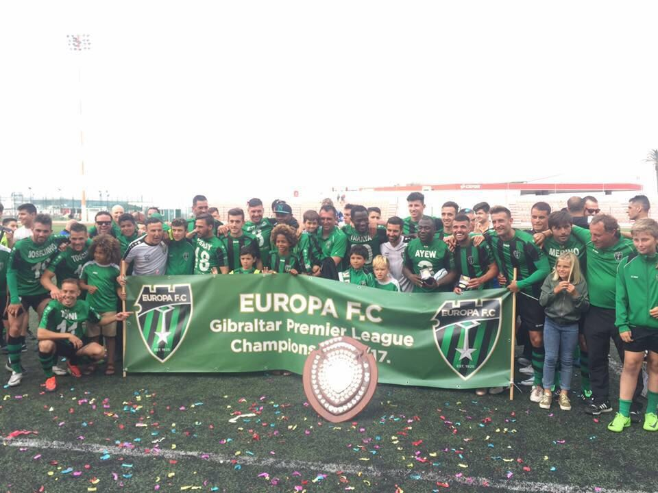 RAHIM AYEWS POWERS FC EUROPA TO LEAGUE TRIUMPH