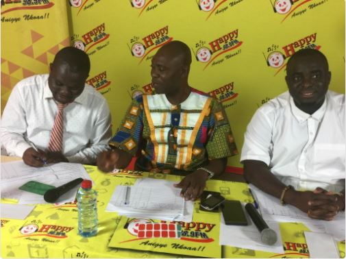 PHOTOS: Hundreds step up to become Happy FM AGOROHENE at auditions
