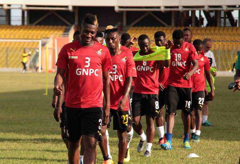 Black Stars begin training today