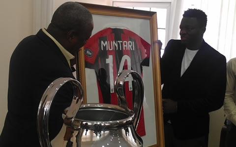 Ex-Ghana President John Mahama supports Muntari in fight against racism
