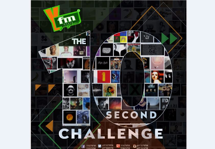 YFM'S 10 SECONDS CHALLENGE GIVES OUT GHC 740 SO FAR