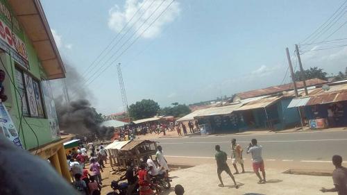 Somanya rioters used petrol bomb - Police