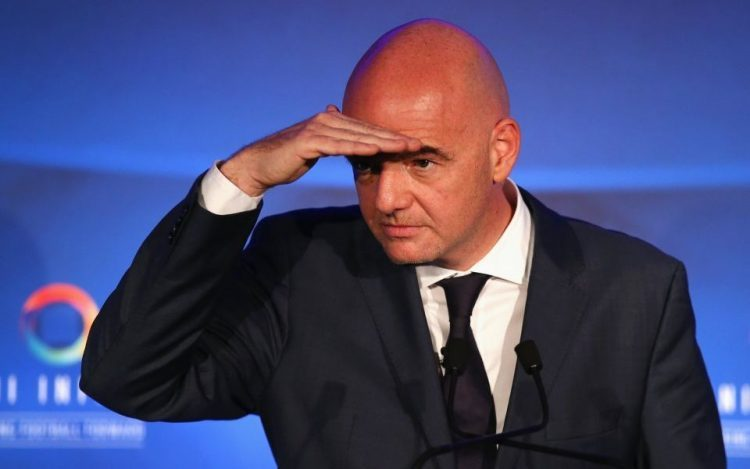 Fifa boss Gianni Infantino slams racist 'idiots', set to speak to Muntari