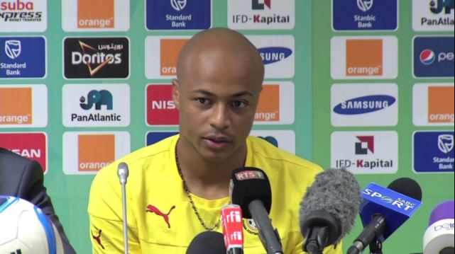 Andre Ayew welcomes Black Stars New Boys; believes they will help improve team