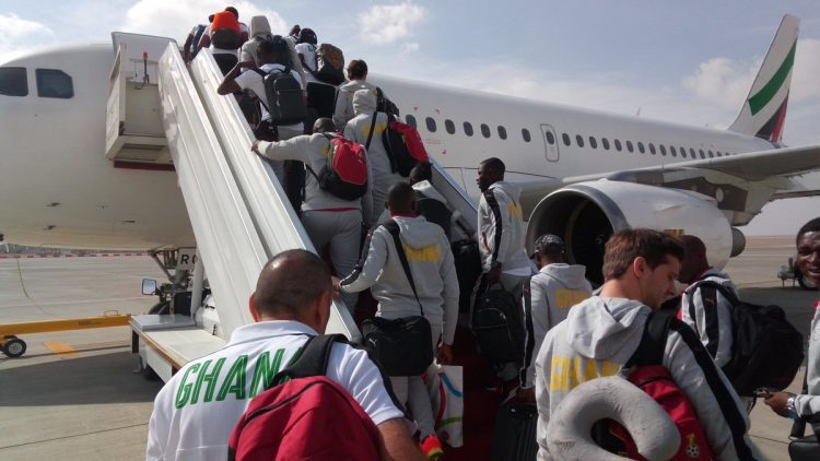 Full list of Black Stars Players who made the trip to USA after Ayews, Amartey, others dropped out