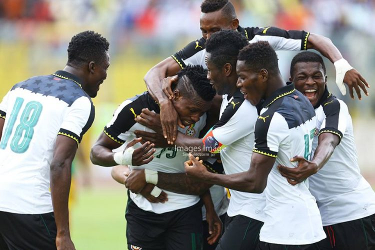 Dream Start For Kwesi Appiah As Five-star Black Stars Whitewash Ethiopia; Gyan hits 50