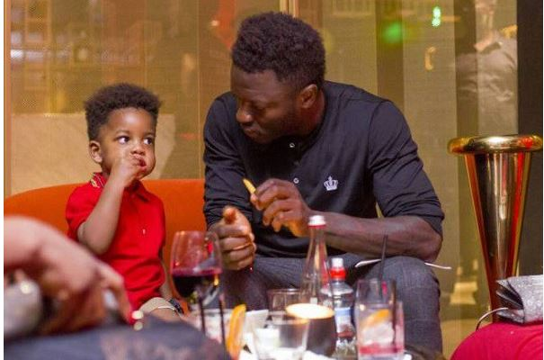 PHOTOS: Black Stars Players celebrate father's day with their kids