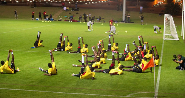 PHOTOS: Black Stars intensify training in US ahead of Mexico clash